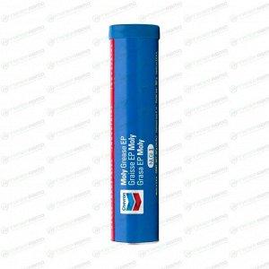 Смазка пластичная Chevron Moly Grease EP NLGI 1, многоцелевая, с дисульфидом молибдена, тёмно-серая, туба 397г