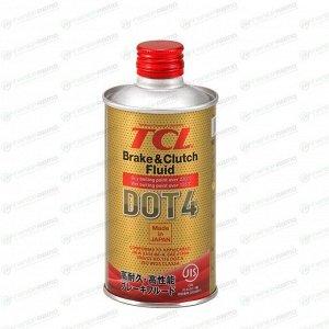 Жидкость тормозная TCL Brake & Clutch Fluid, DOT 4, 355мл