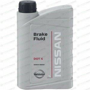Жидкость тормозная Nissan Brake Fluid, DOT 4, 1л