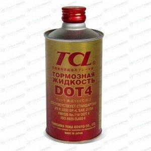 Жидкость тормозная TCL Brake & Clutch Fluid, DOT 4, 1л