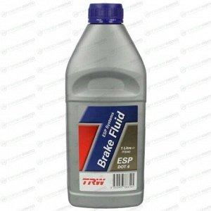 Жидкость тормозная TRW Brake Fluid, DOT-4, ABS, ESP, 1л, арт. PFB440
