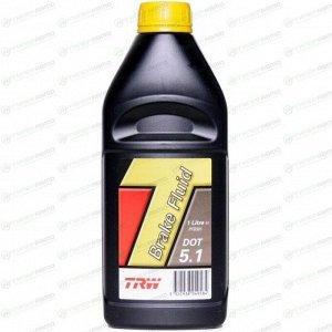 Жидкость тормозная TRW Brake Fluid, DOT-5.1, ABS, 1л, арт. PFB501