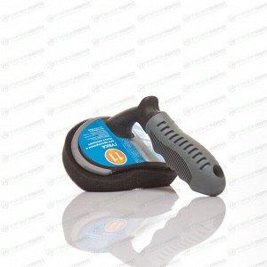 Губка Kolibriya Alba-11, для мытья шин и дисков, с ручкой, поролон, арт. AL-0531