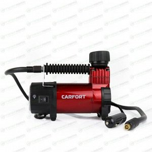 Компрессор автомобильный Carfort Force-30, 12В, 5А, 30л/мин, 10атм, фонарь