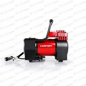 Компрессор автомобильный Carfort Force-40, 12В, 10А, 40л/мин, 10атм, фонарь