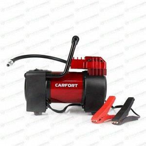 Компрессор автомобильный Carfort Force-55, 12В, 15А, 55л/мин, 10атм, фонарь