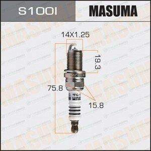 Свеча зажигания Masuma Iridium IK16 с иридиевым электродом, арт. S100I