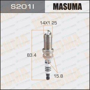 Свеча зажигания Masuma Iridium IKH20 с иридиевым электродом, арт. S201I