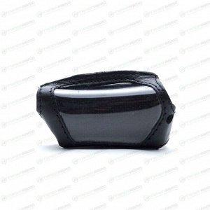 Чехол на брелок сигнализации Pandora DX-90 кожаный черного цвета