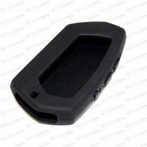 Чехол на брелок сигнализации Pandora DX-90 силиконовый черного цвета