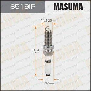 Свеча зажигания Masuma Iridium+Platinum PLFER7A8EG с иридиевым электродом, арт. S519IP