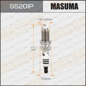 Свеча зажигания Masuma Iridium+Platinum IZFR6K13 с иридиевым электродом, арт. S520IP