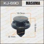 Клипса крепежная MASUMA KJ-690 (OEM 01553-09611, 90467-08185)