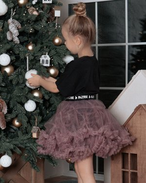 Фатиновая юбка ЗЕФИР, пудра