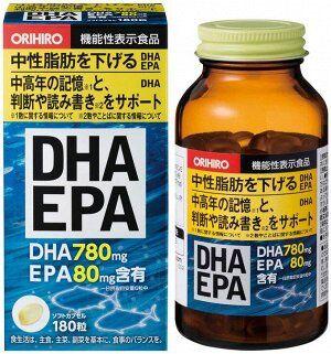 ORIHIRO - DHA&EPA комплекс омега-3 кислот