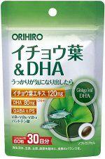 ORIHIRO Ginko Leaf&DHA - поддержка памяти