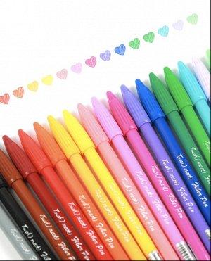 Волоконная Touchmark маркерная ручка/12 цветов