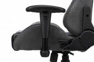 Кресло игровое Бюрократ VIKING X серый/черный