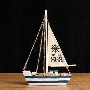 Корабль сувенирный с подсветкой 23*5*33см