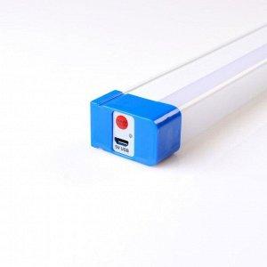 Фонарь аккумуляторный, 3600 mAh, 60 Вт, 52 см,   5 ч работы, на магнитах