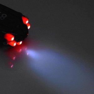 """Фонарь-мультитул """"Мастер К."""" MMB-W3D6 , 8 в 1, фонарь 6 диодов, 7 отвёрток"""