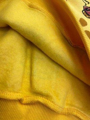 Толстовка желтый