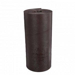 Лента бордюрная, 0.3 ? 10 м, толщина 1.2 мм, пластиковая, коричневая, Greengo