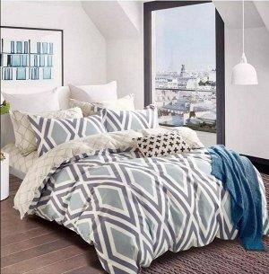 Bed linen - Poplin Premium 1820 rhombuses