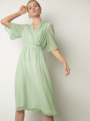 Шифоновое платье А-силуэта PL1132/clayton