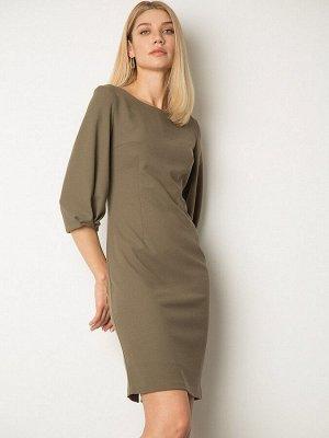 Платье приталенного силуэта PL1164/bolden