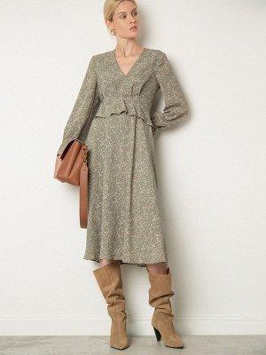 Платье с принтом PL1082/doran