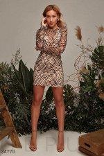 Эффектное платье Gepur