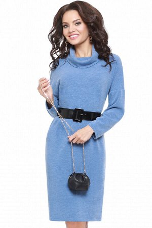 Платье Интересное предложение, блю