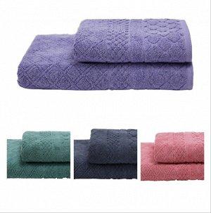 Романтика Ажур полотенце махровое