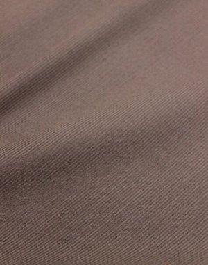 Микровельвет цв.Темно-коричневый ВИД2, ш.1.48м, хлопок-100%, 220 гр/м.кв