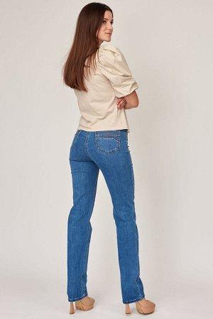 Слегка приуженные синие джинсы (ряд 44-56) арт. SS73080-4114-2