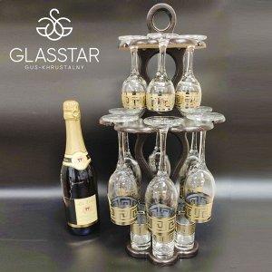 Изысканный набор Glasstar Грация / 19 предметов