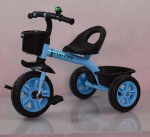 Велосипед 3-х колесный  GOLF TRIKE LTE-601 (1/5) синий (упаковка 5шт)