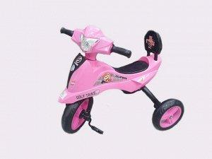 Велосипед 3-х колесный  GOLF TRIKE TX-619 (1/5) розовый (упаковка 5 шт)