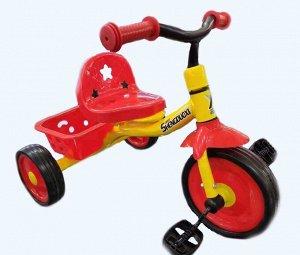Велосипед 3-х колесный  GOLF TRIKE TX-S721 (1/8) красный (упаковка 8шт)