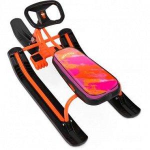 Снегокат Тимка спорт 2 Nika-kids colors оранжевый/черный ТС2/CL2 (1/2)