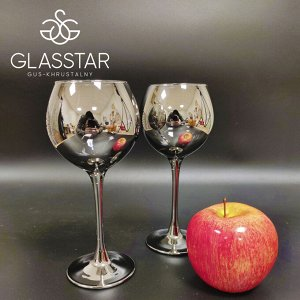Набор бокалов Glasstar Графит / 6 шт. 280 мл