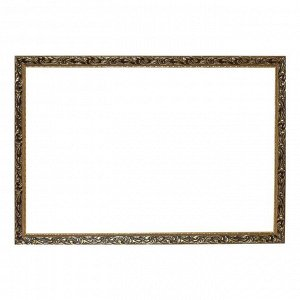 Рама для картин (зеркал) 60 х 90 х 4 см. дерево. «Версаль». цвет золотой