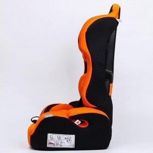 Удерживающее устройство для детей Крошка Я Multi, гр. I/II/III, Orange Black