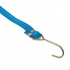 Резинка крепления TORSO 60 см, d 1,75 см, металлические крючки, микс, набор 2 шт
