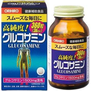 Пищевая добавка Orihiro Glucosamin, на 36 дн.