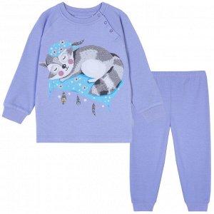 Пижама для девочки, сиреневый