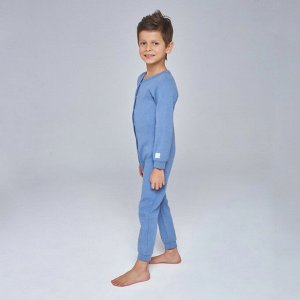 Комбинезон для сна для мальчика, фиолетовый меланж