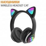Беспроводные наушники Wireless Headset Cat STN-28