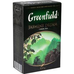 Чай Гринфилд Jasmine Dream green tea 100г 1/14, шт